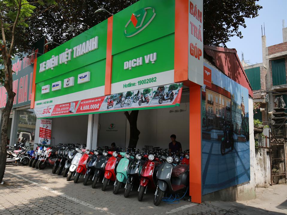Xe điện Việt Thanh - địa chỉ mua xe điện uy tín tại Hà Nội