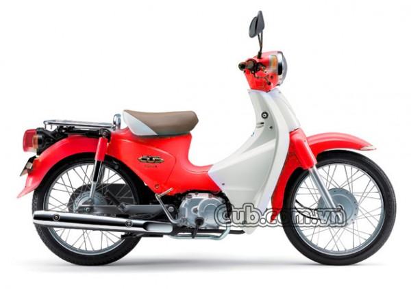 Xe Cub 81 TAYA màu đỏ