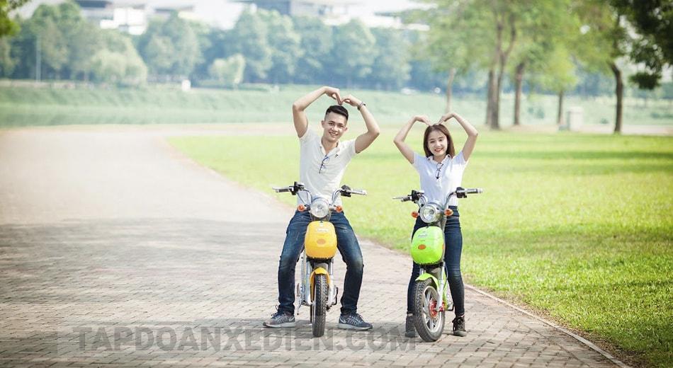 Những dòng xe đạp điện được học sinh – sinh viên ưa chuộng