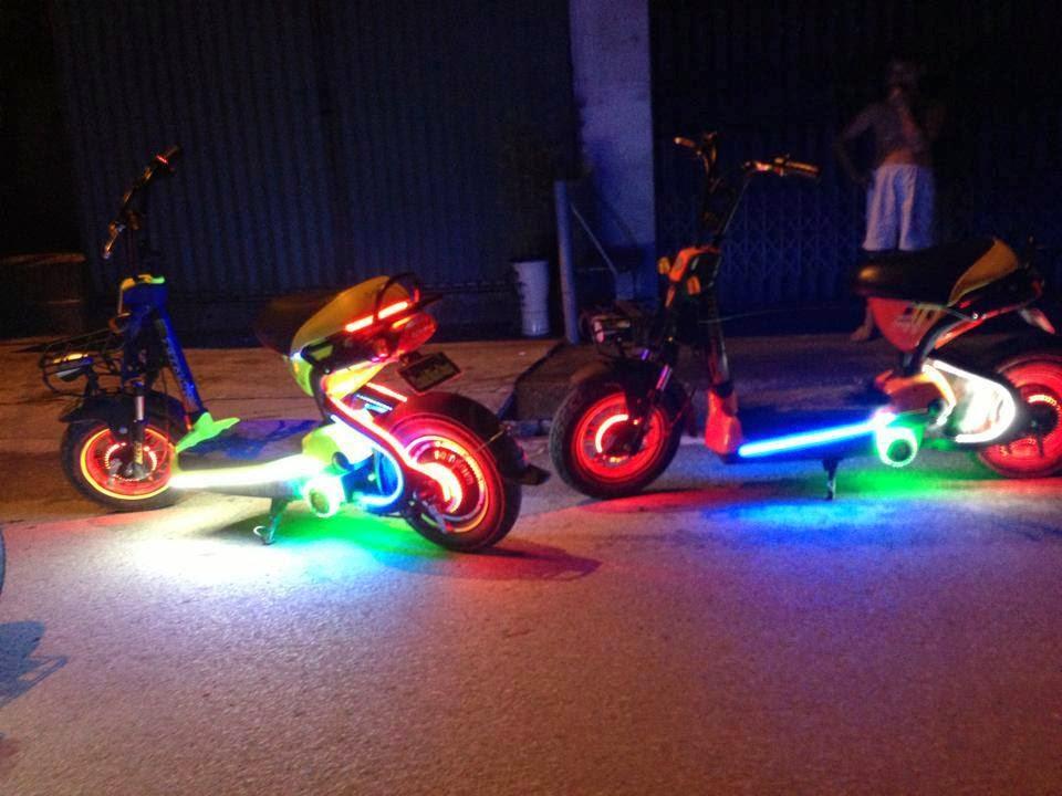 Hướng dẫn độ đèn Led cho xe điện